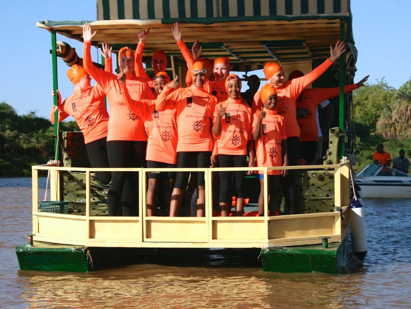 Crossing the Nile - event water safety