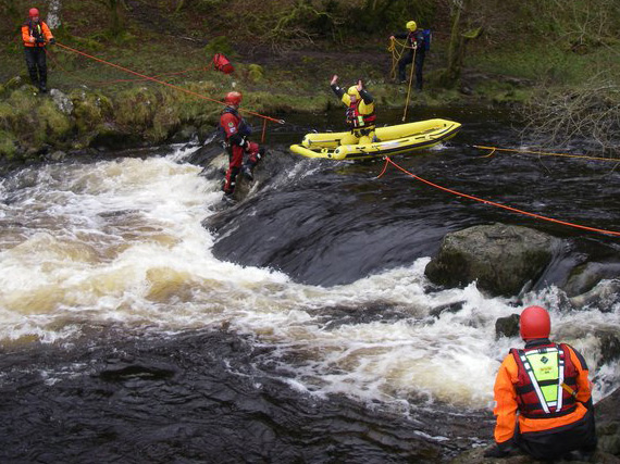 Swiftwater Flood Rescue Technician Training